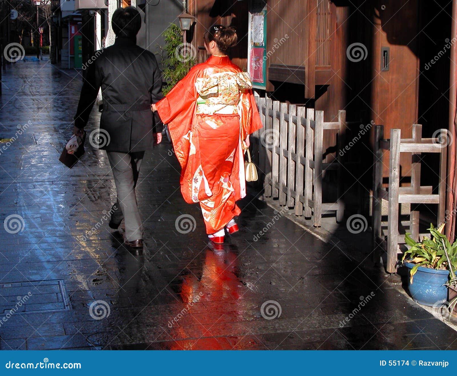 Marche japonaise de couples