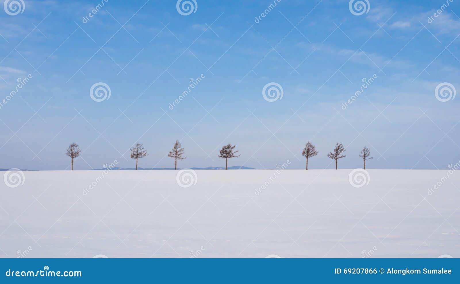 Marchen Hill (Fairy Tales Hill), Hokkaido, Japan Stock Photo - Image ...