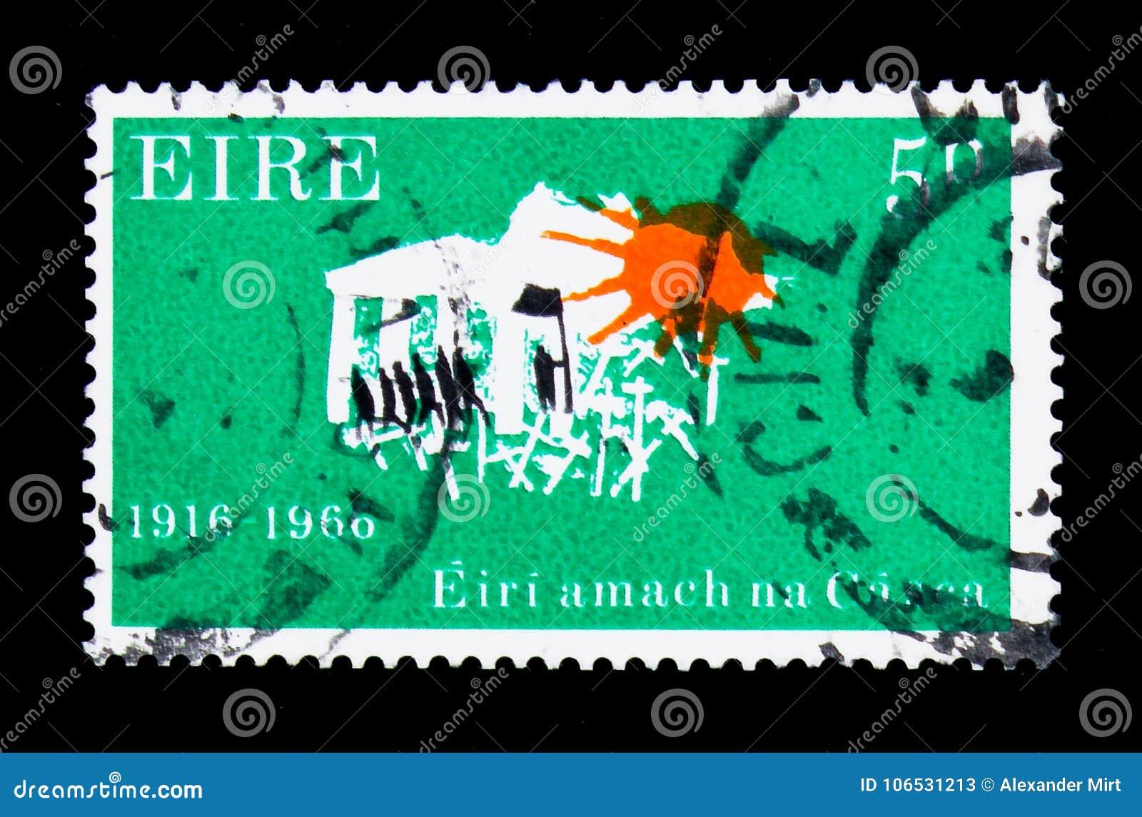 Marcherend aan Vrijheid 1916-1966, 50ste Verjaardag van de Pasen-Opstand serie, circa 1966