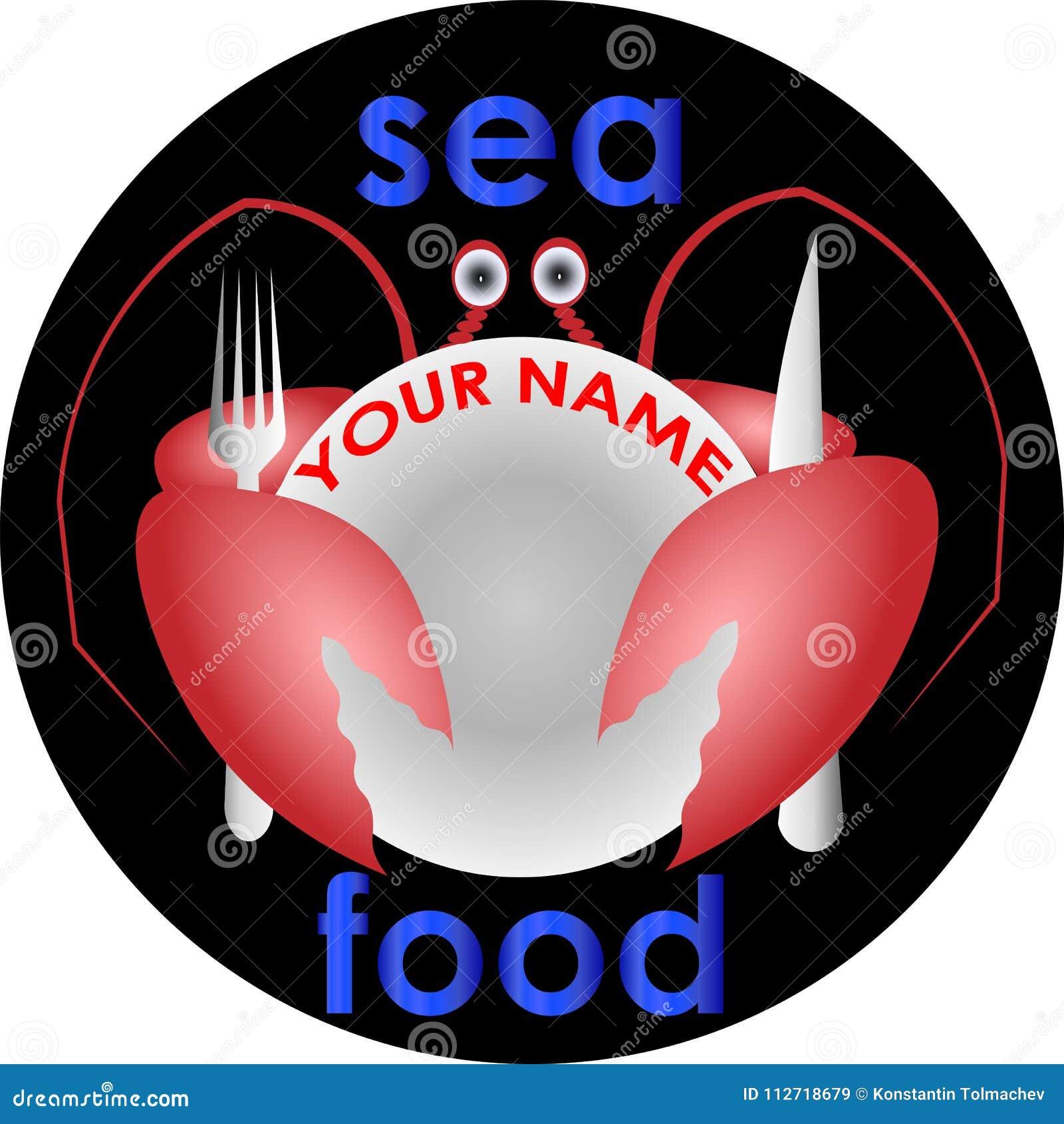 Crabe Avec Un Couteau marchez en crabe avec une fourchette et un couteau cachés derrière