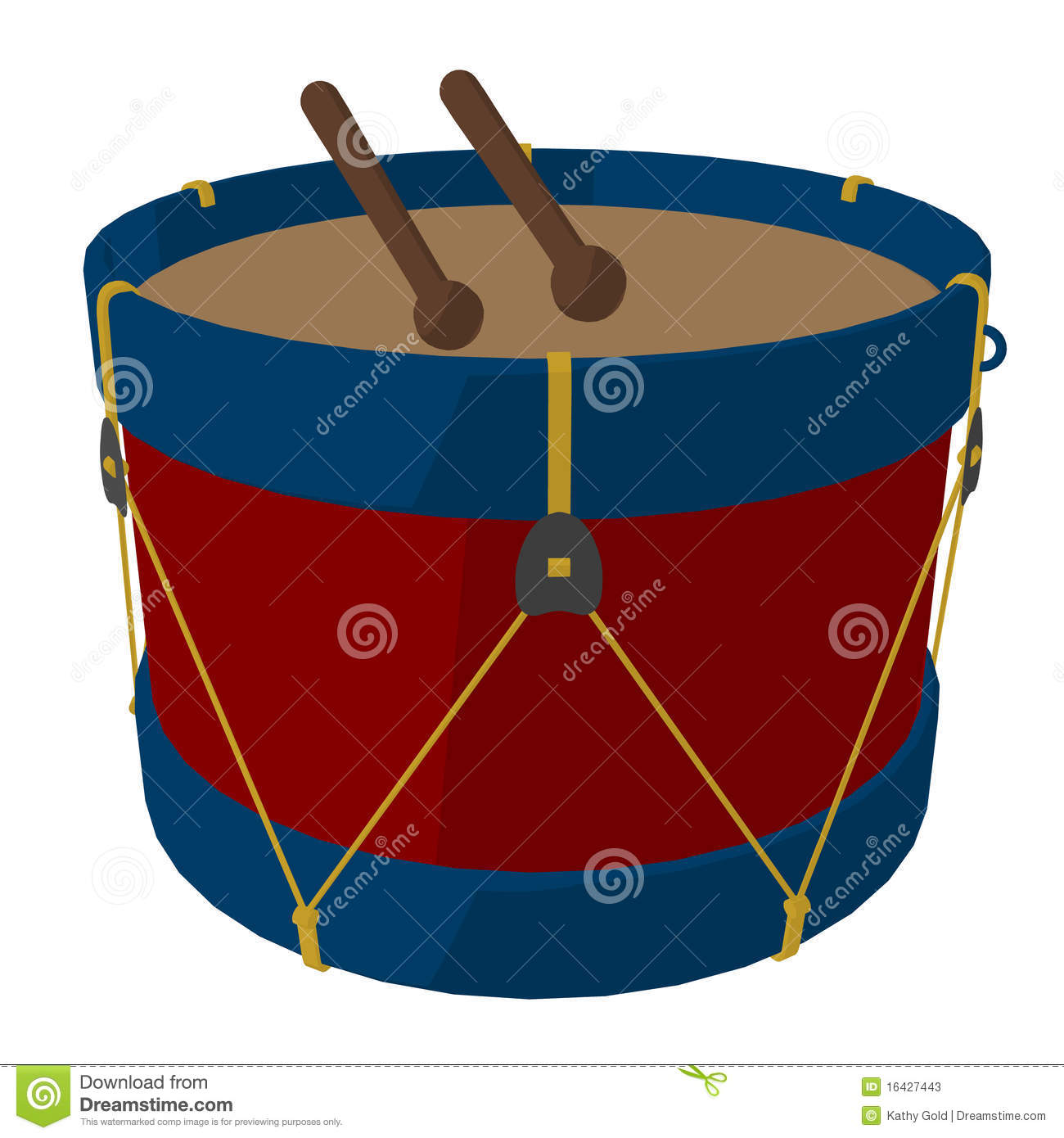 Marching Drums Clipart Marching band drums