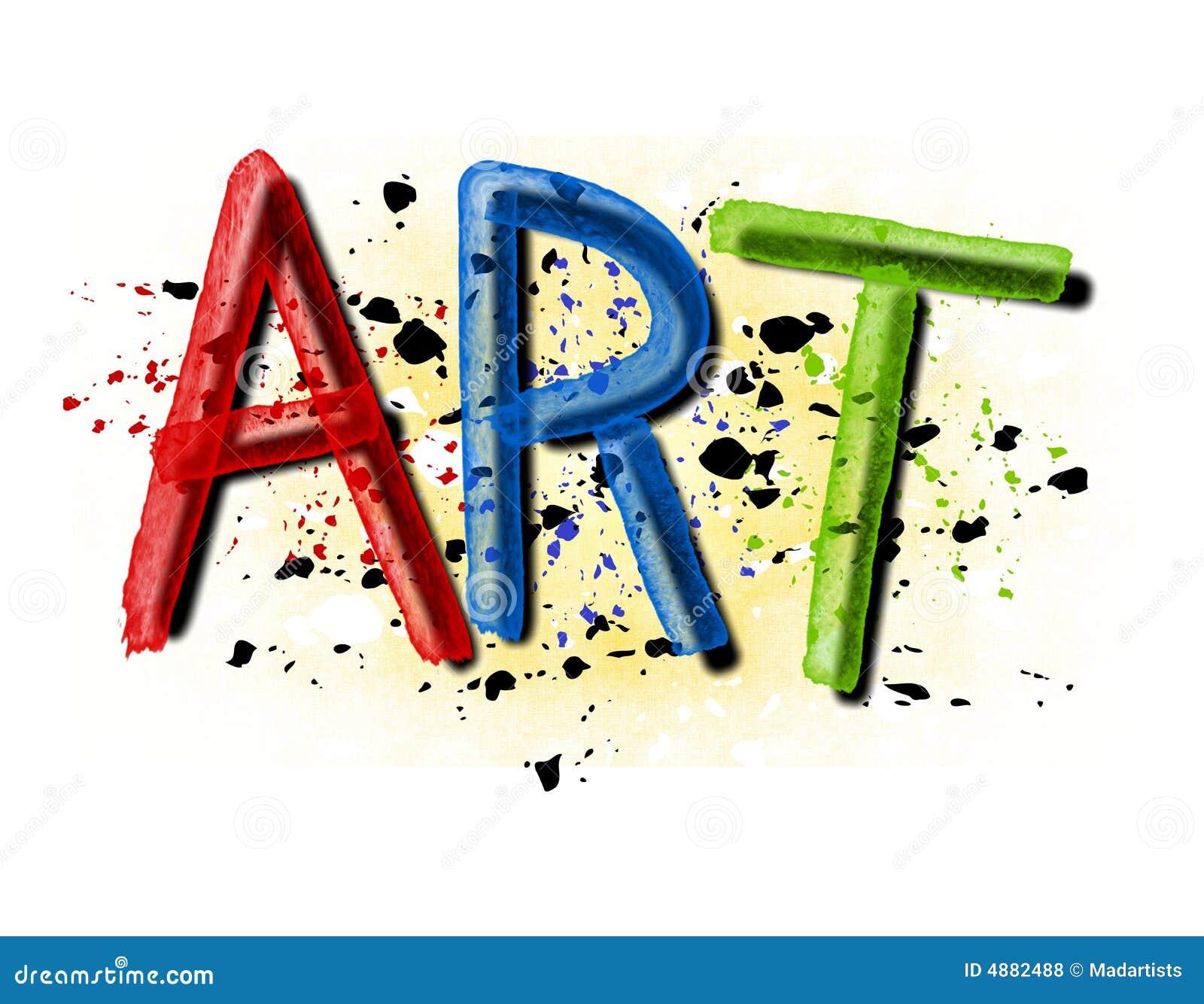 Marchio di arte dello Splatter della vernice di Grunge