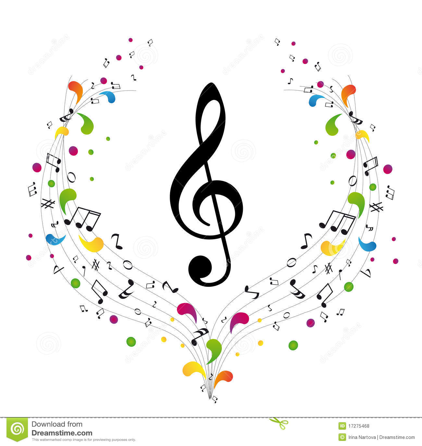 Marchio di musica - clef triplo