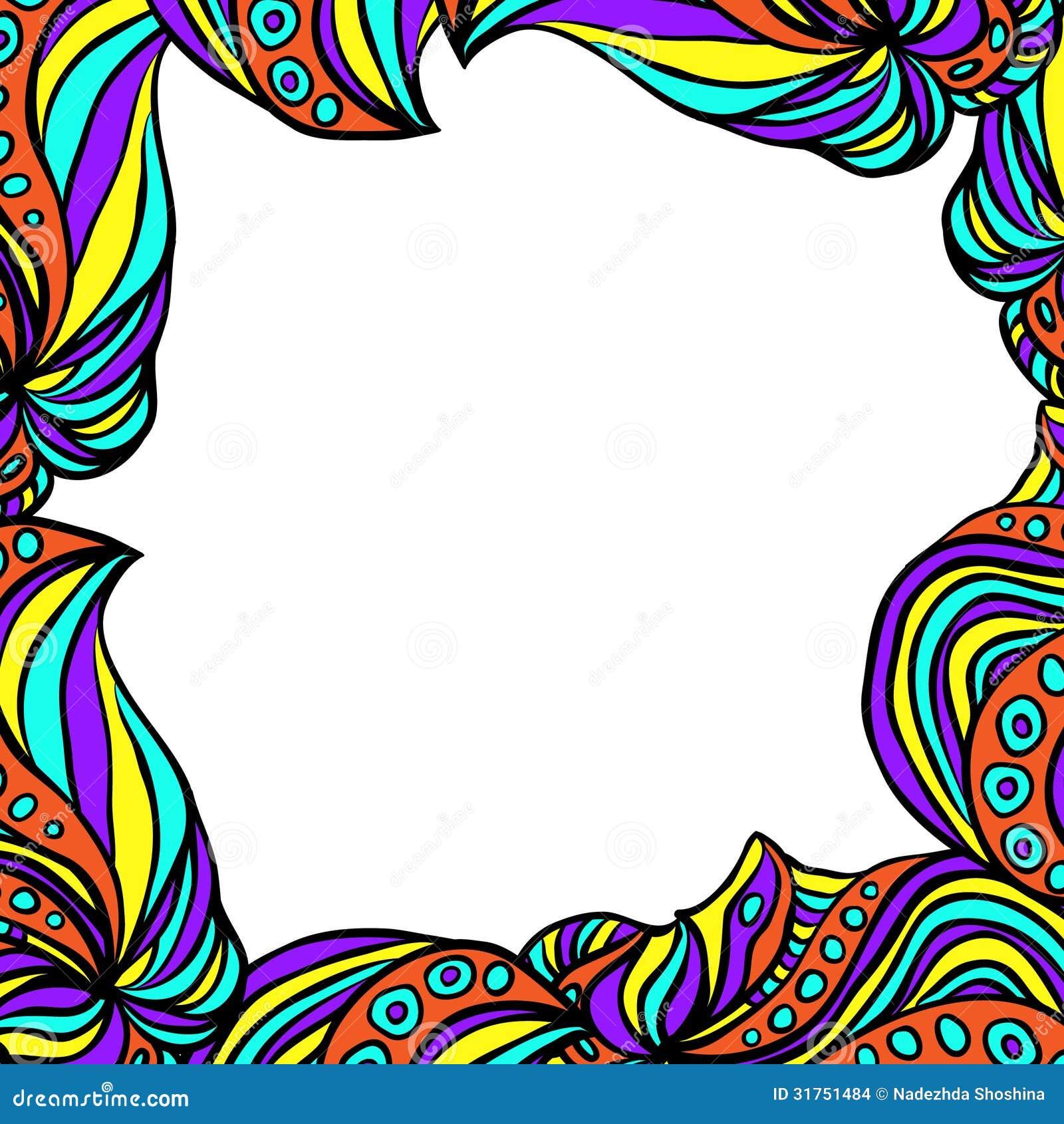 Marco abstracto brillante ilustraci n del vector Marcos para fotos precios