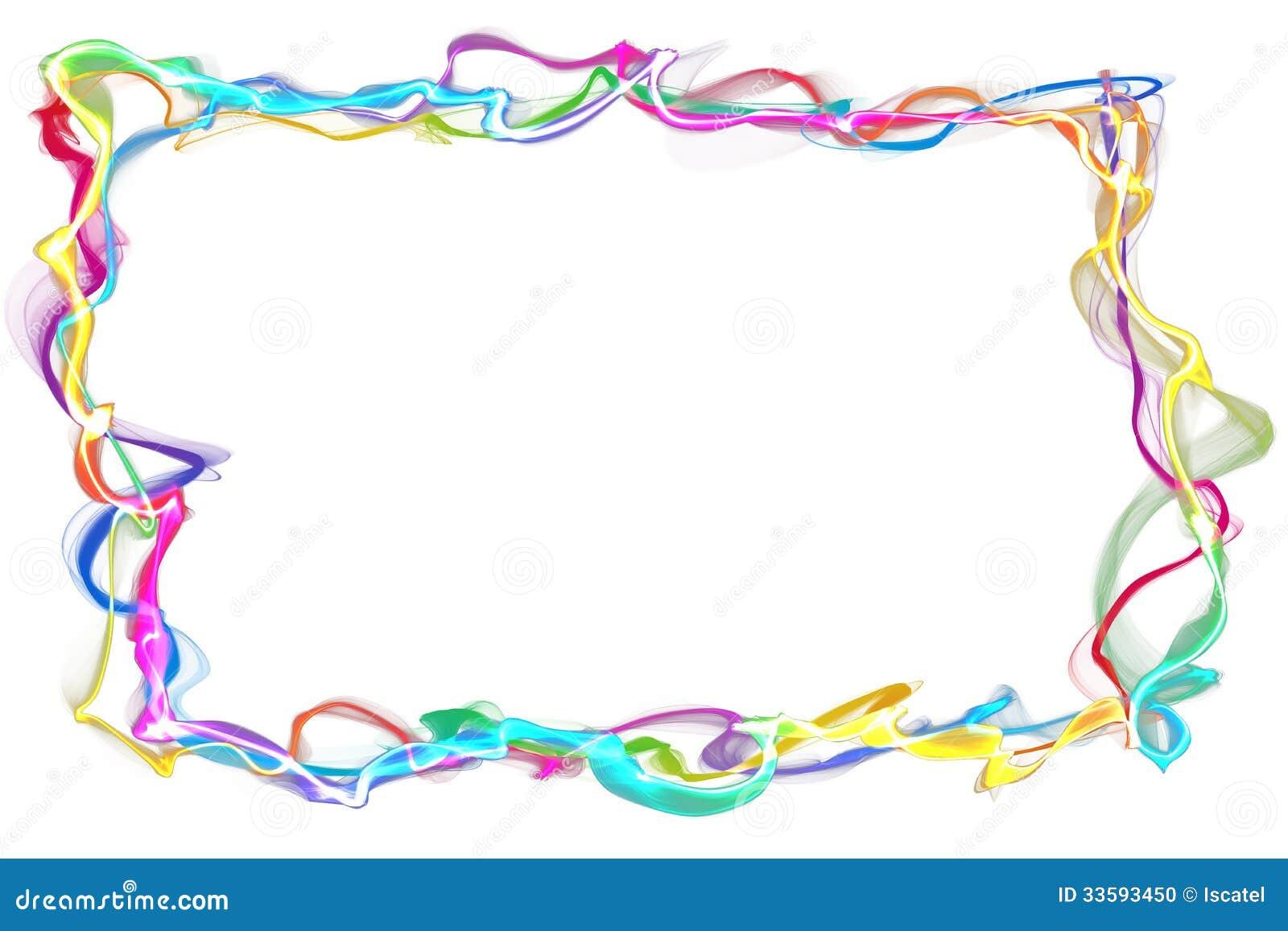 Marco Abstracto De La Cinta Stock de ilustración - Ilustración de ...