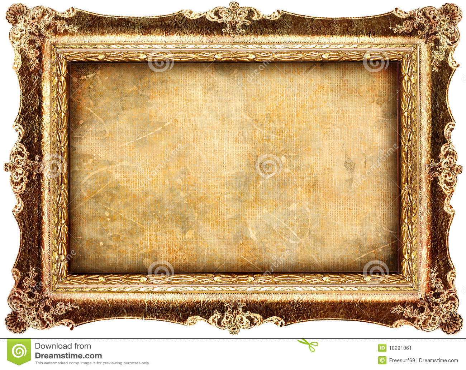 Marco antiguo imagen de archivo imagen de grunge for Marco cuadro antiguo