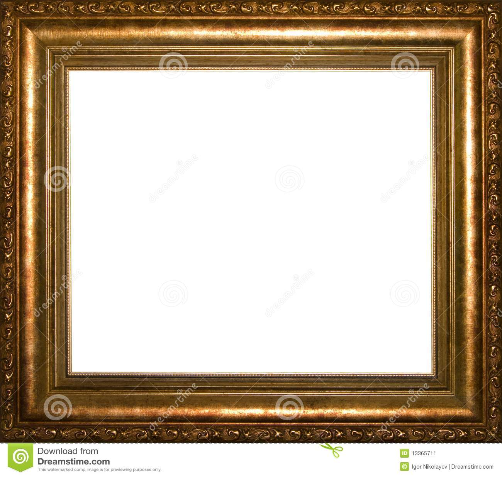 Marco antiguo imagen de archivo imagen 13365711 for Marco cuadro antiguo