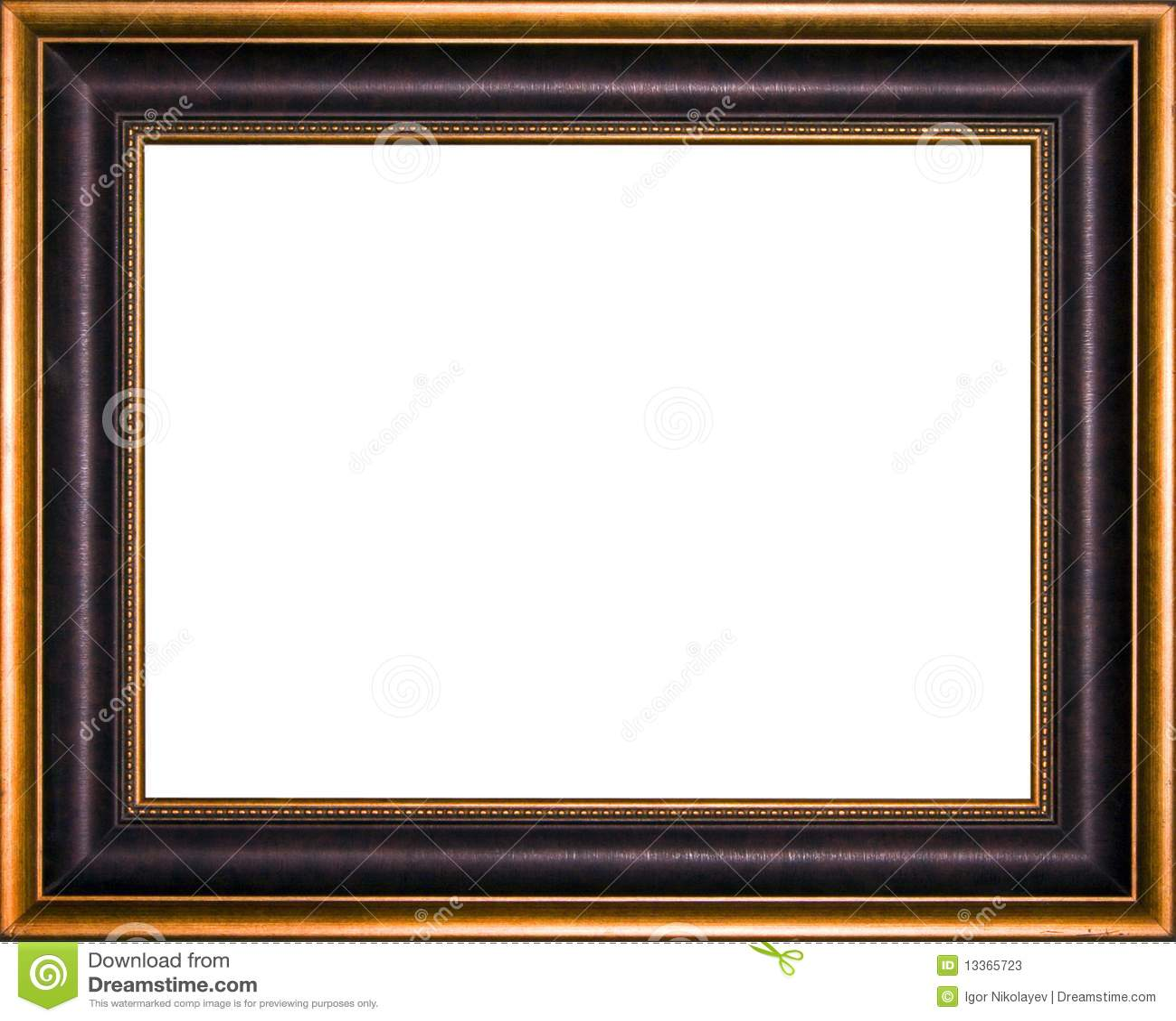 Marco antiguo fotos de archivo imagen 13365723 for Marco cuadro antiguo
