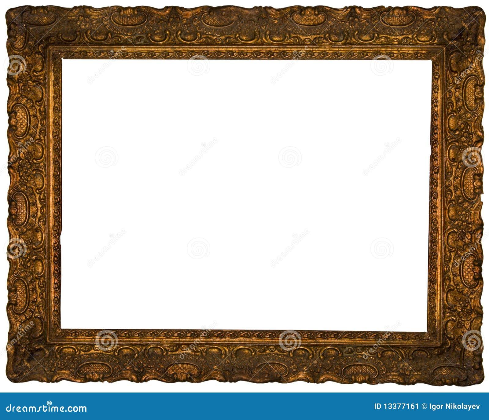 Marco antiguo imagen de archivo imagen 13377161 for Marco cuadro antiguo