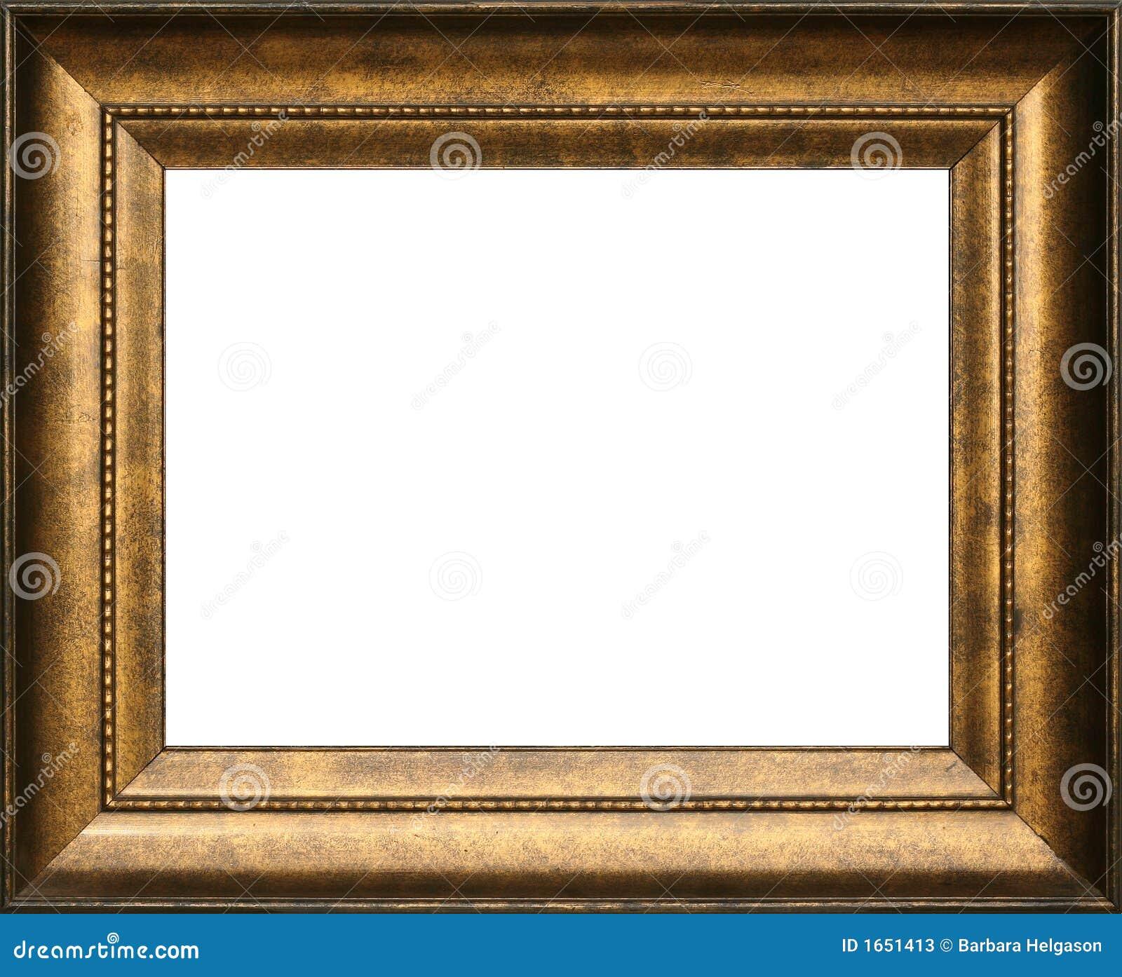 Marco antiguo fotos de archivo imagen 1651413 for Marco cuadro antiguo