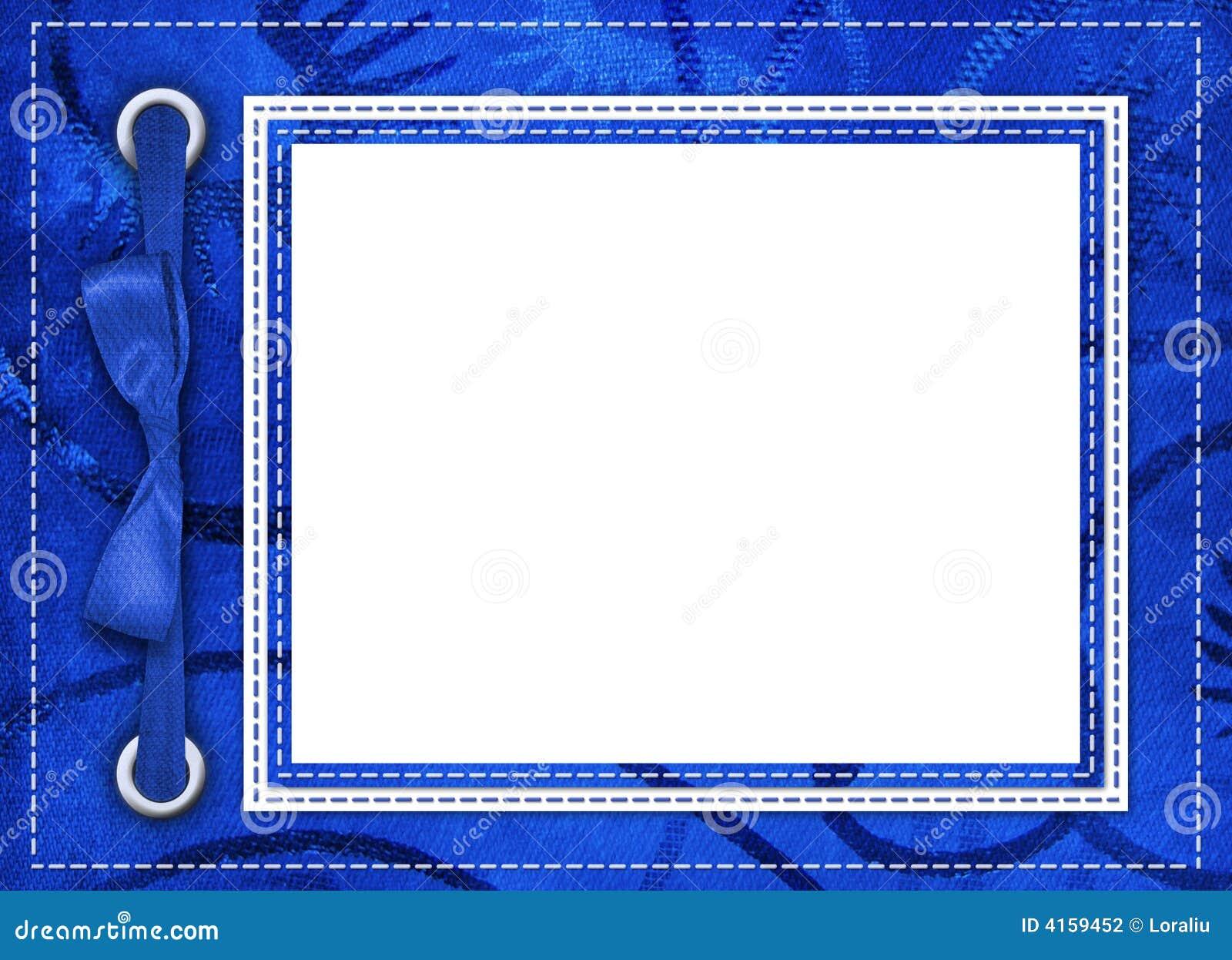 Magnífico Marcos De Fotos Azules Viñeta - Ideas Personalizadas de ...