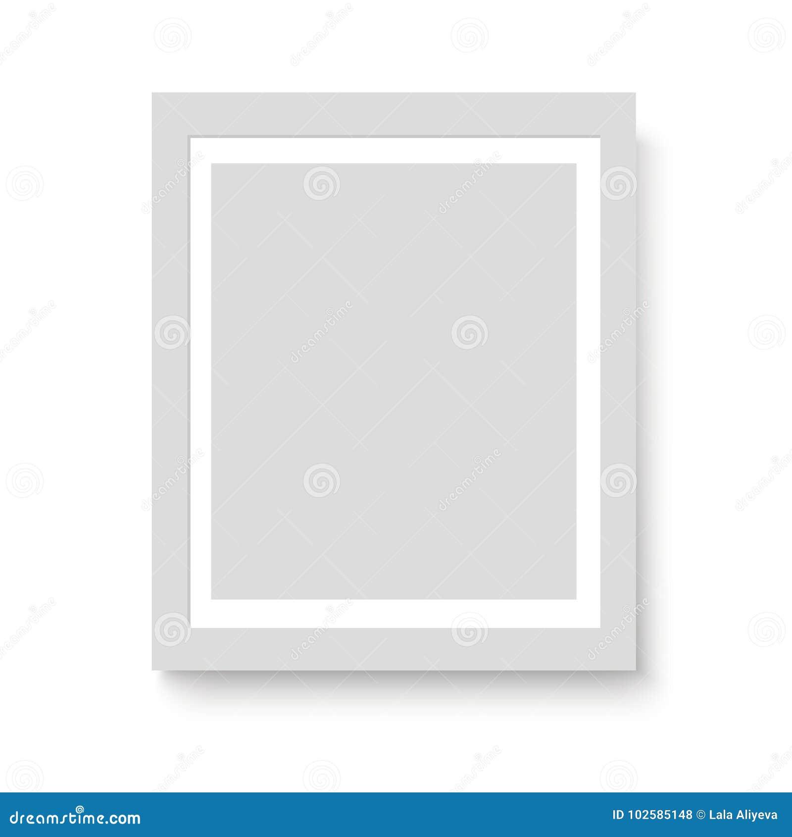 Excepcional Marco Blanco 8x10 Con La Estera Regalo - Ideas ...
