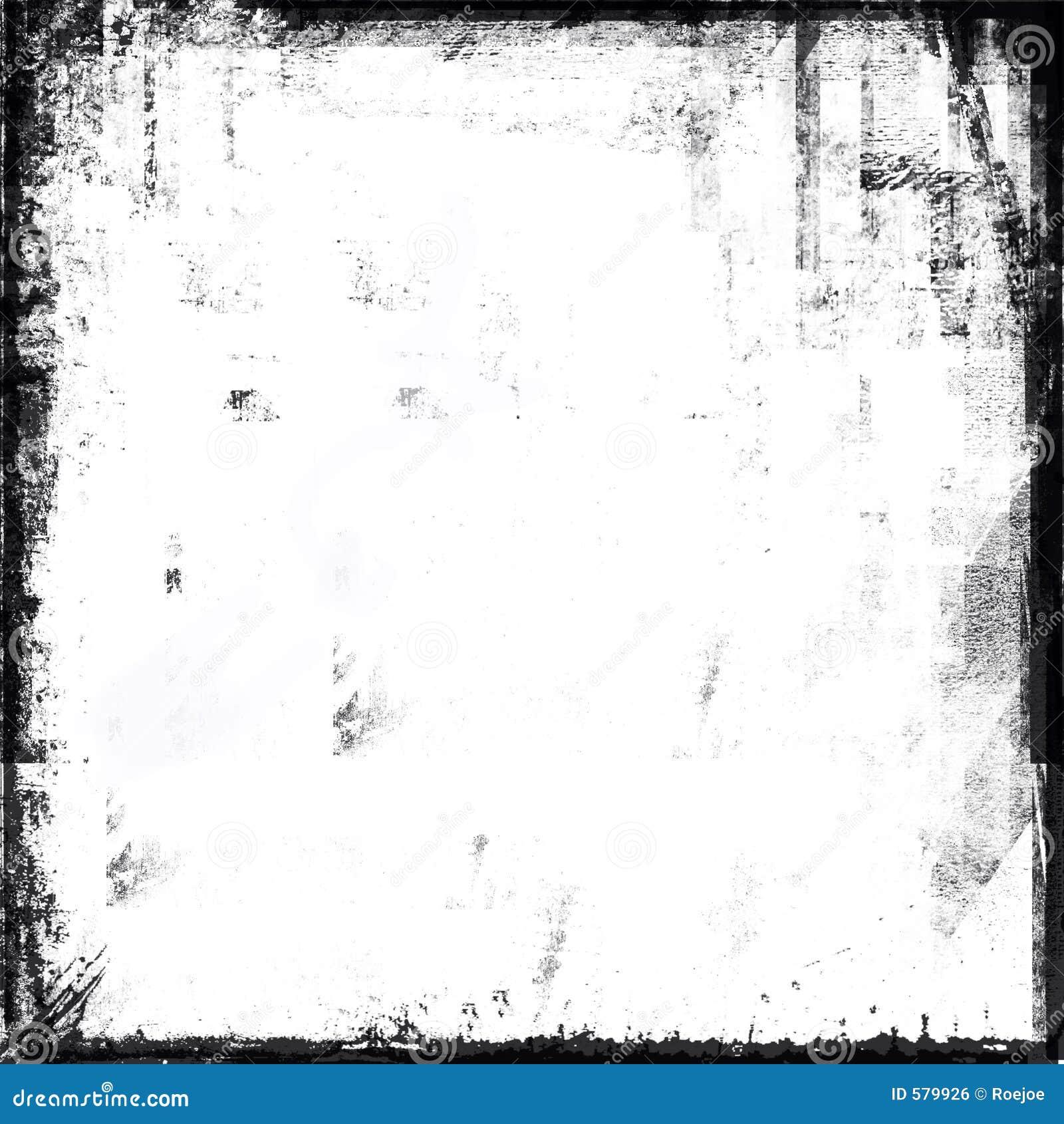 Marco blanco y negro de grunge stock de ilustraci n ilustraci n de moderno cadera 579926 - Blanco y negro paint ...