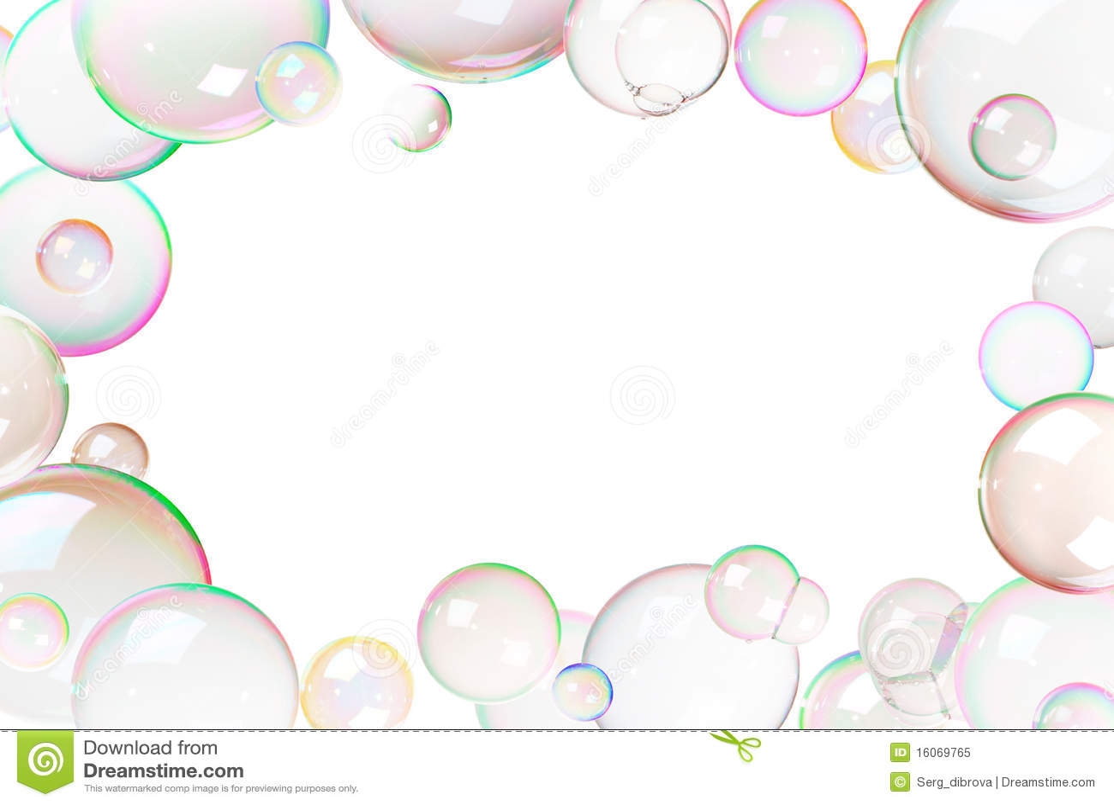 Marco Colorido De Las Burbujas De Jabón Imagen de archivo - Imagen ...