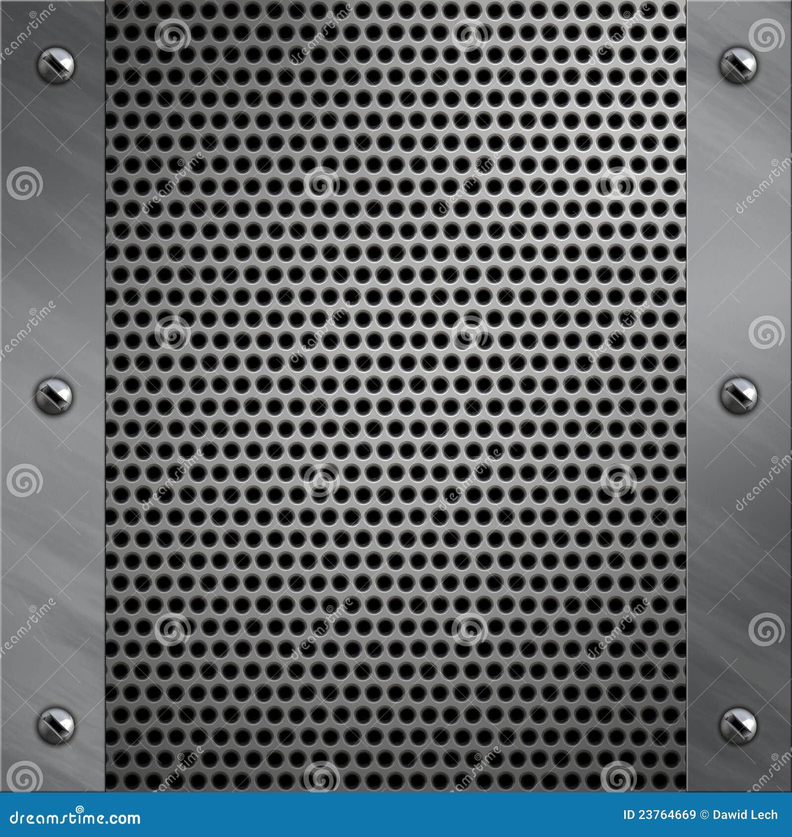Marco De Aluminio Y Metal Perforado Imagen de archivo - Imagen de ...