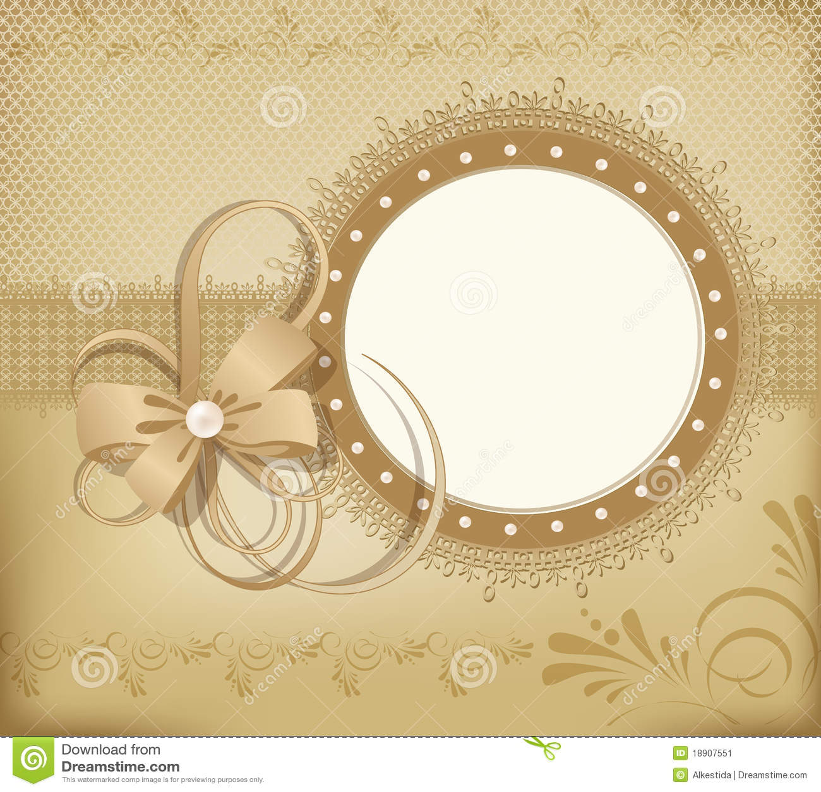 Marco de la boda del saludo del oro para la foto imagen de archivo imagen 18907551 - Marcos de plata para bodas ...