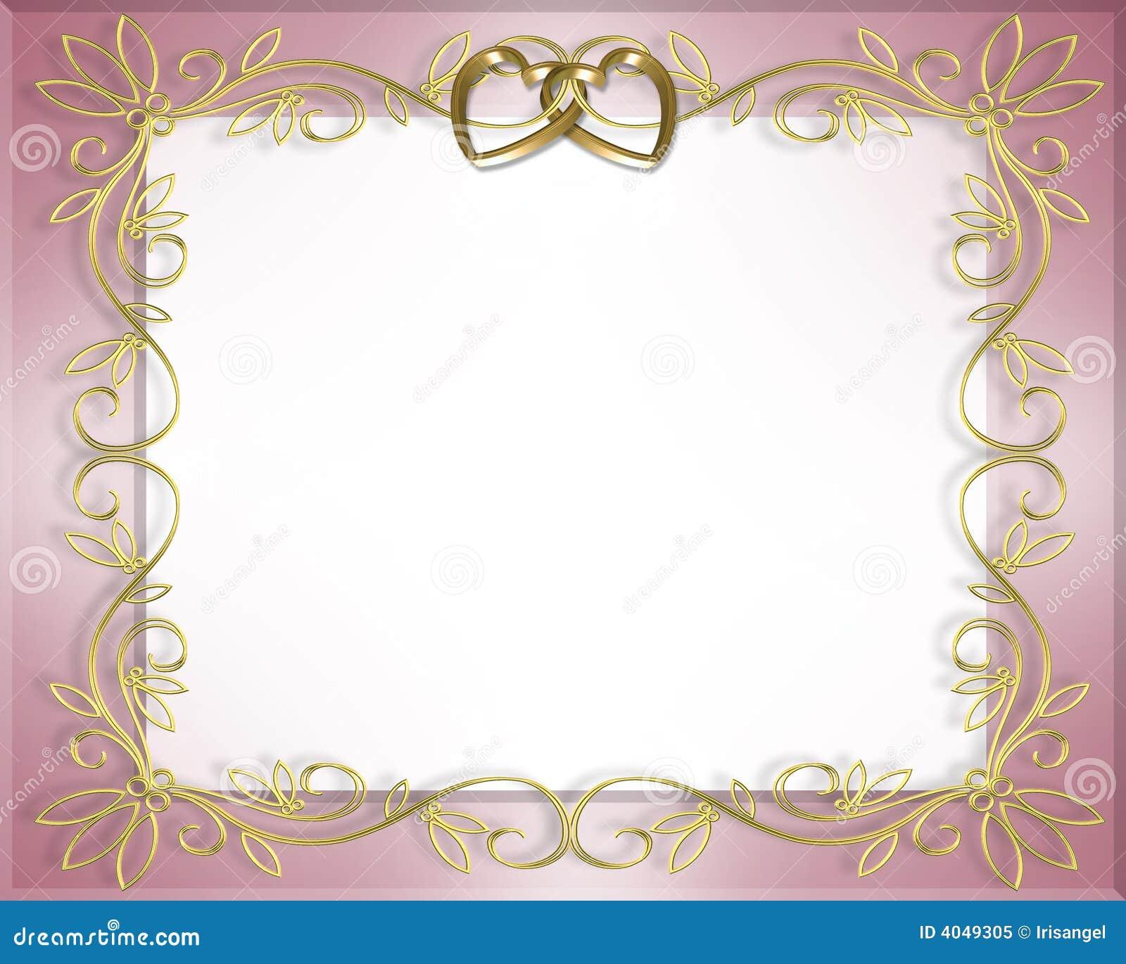 Valentine Wedding Borders