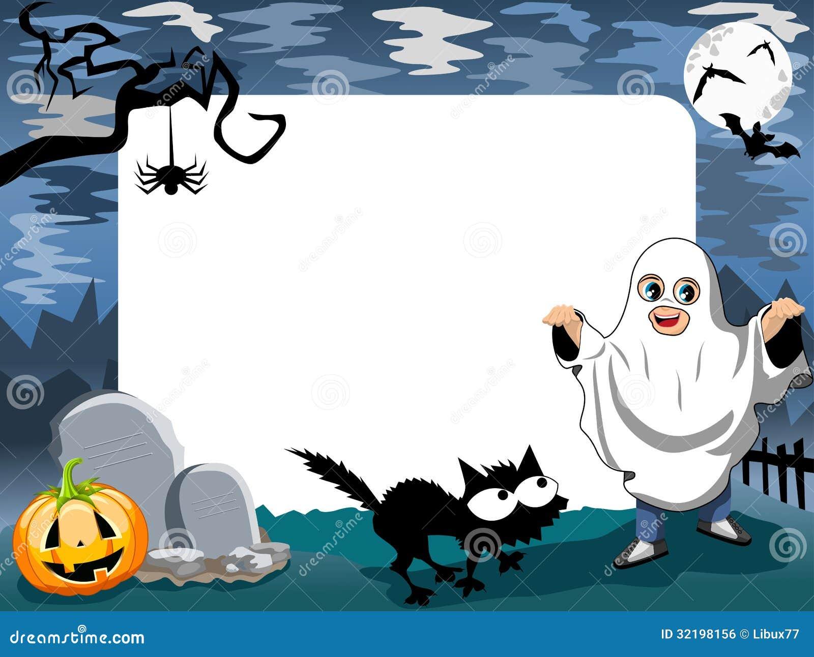 Marco De La Foto De Halloween [4] Ilustración del Vector