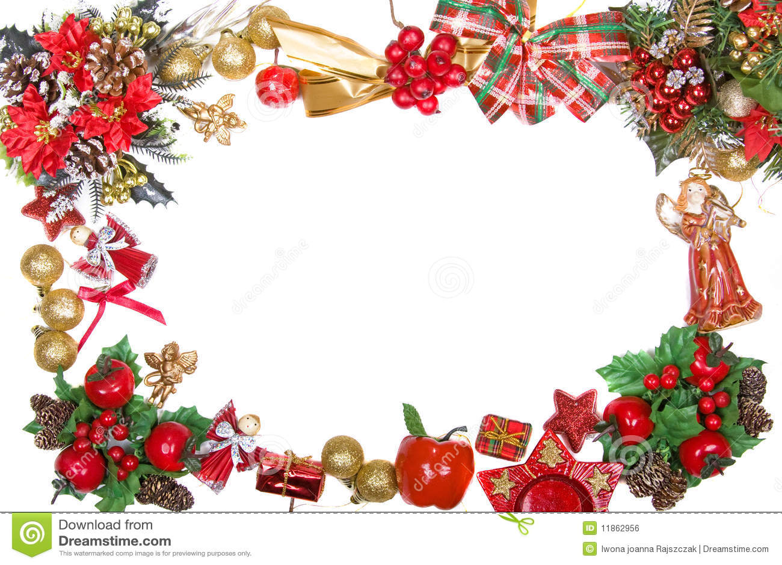 marco de la guirnalda de la navidad cierre hoja - Guirnalda De Navidad