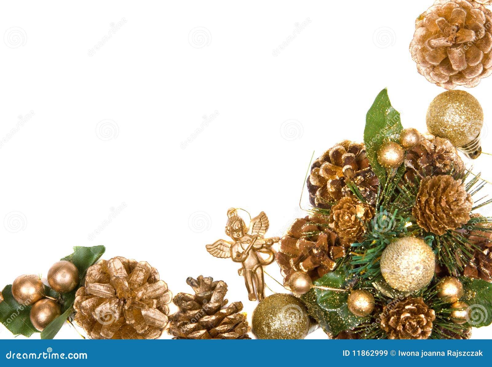 Marco de la guirnalda de la navidad im genes de archivo - Guirnalda de navidad ...