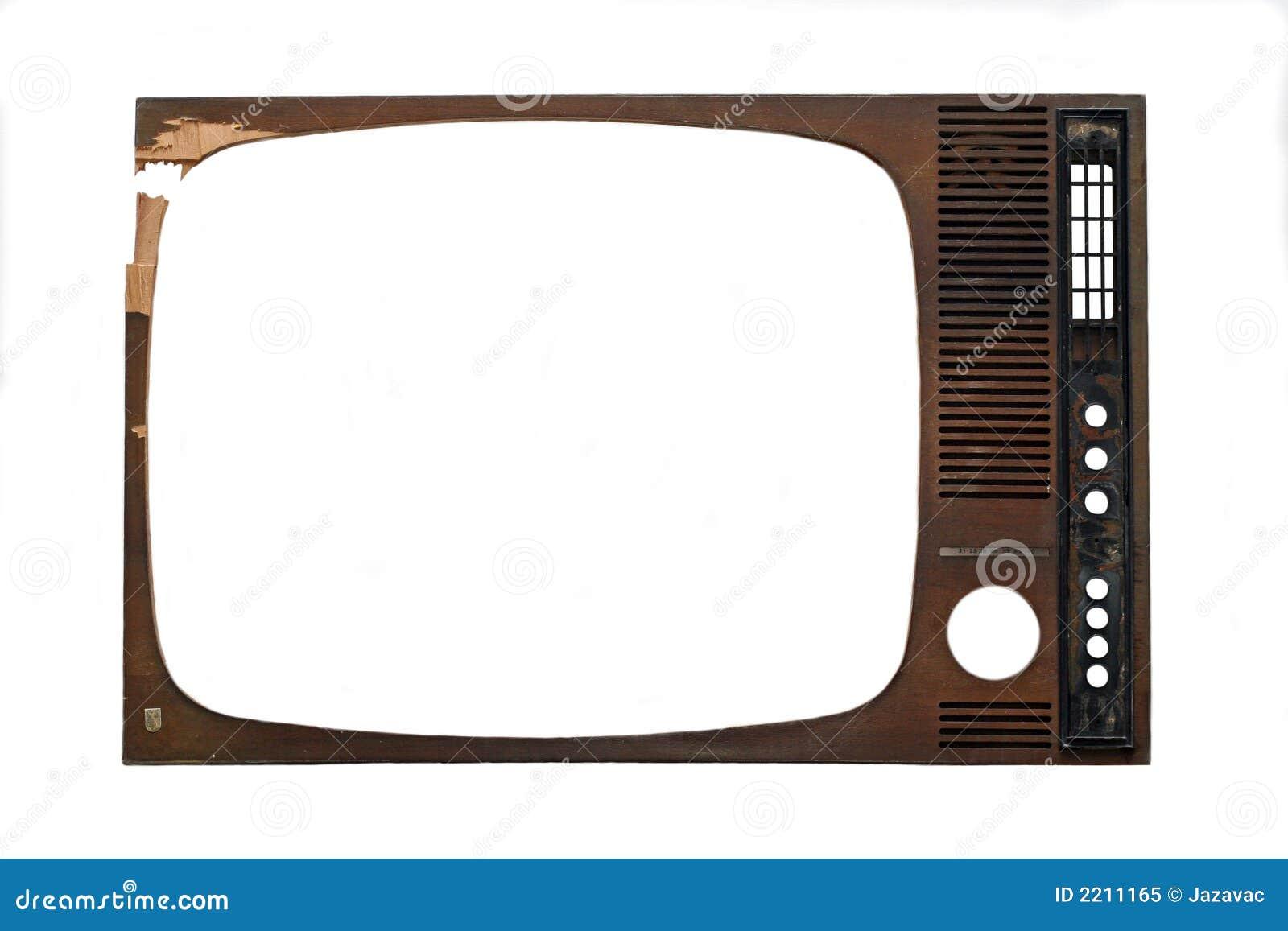 Marco de la TV imagen de archivo. Imagen de marco, retro - 2211165