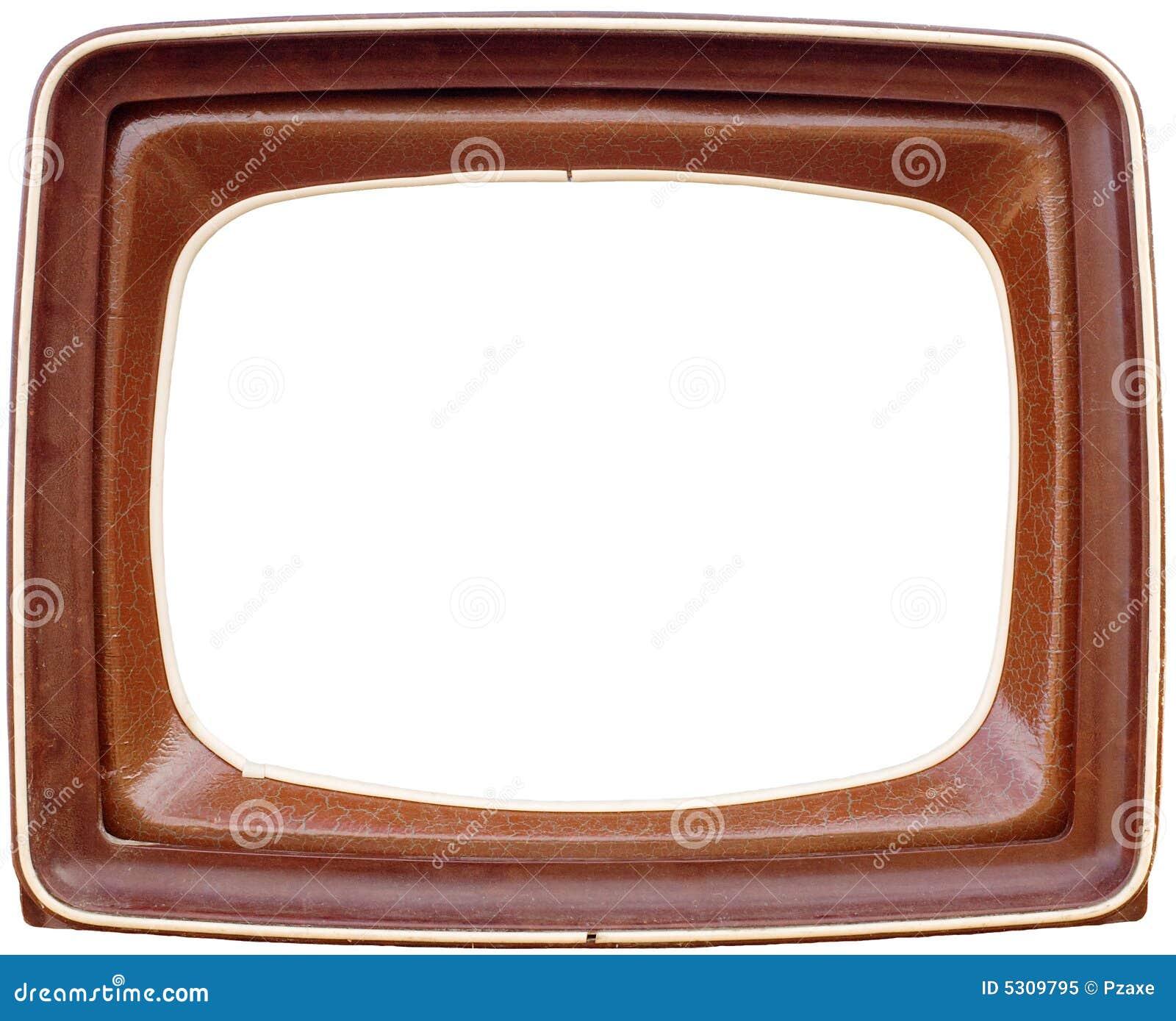 Marco de la TV imagen de archivo. Imagen de marco, televisión - 5309795