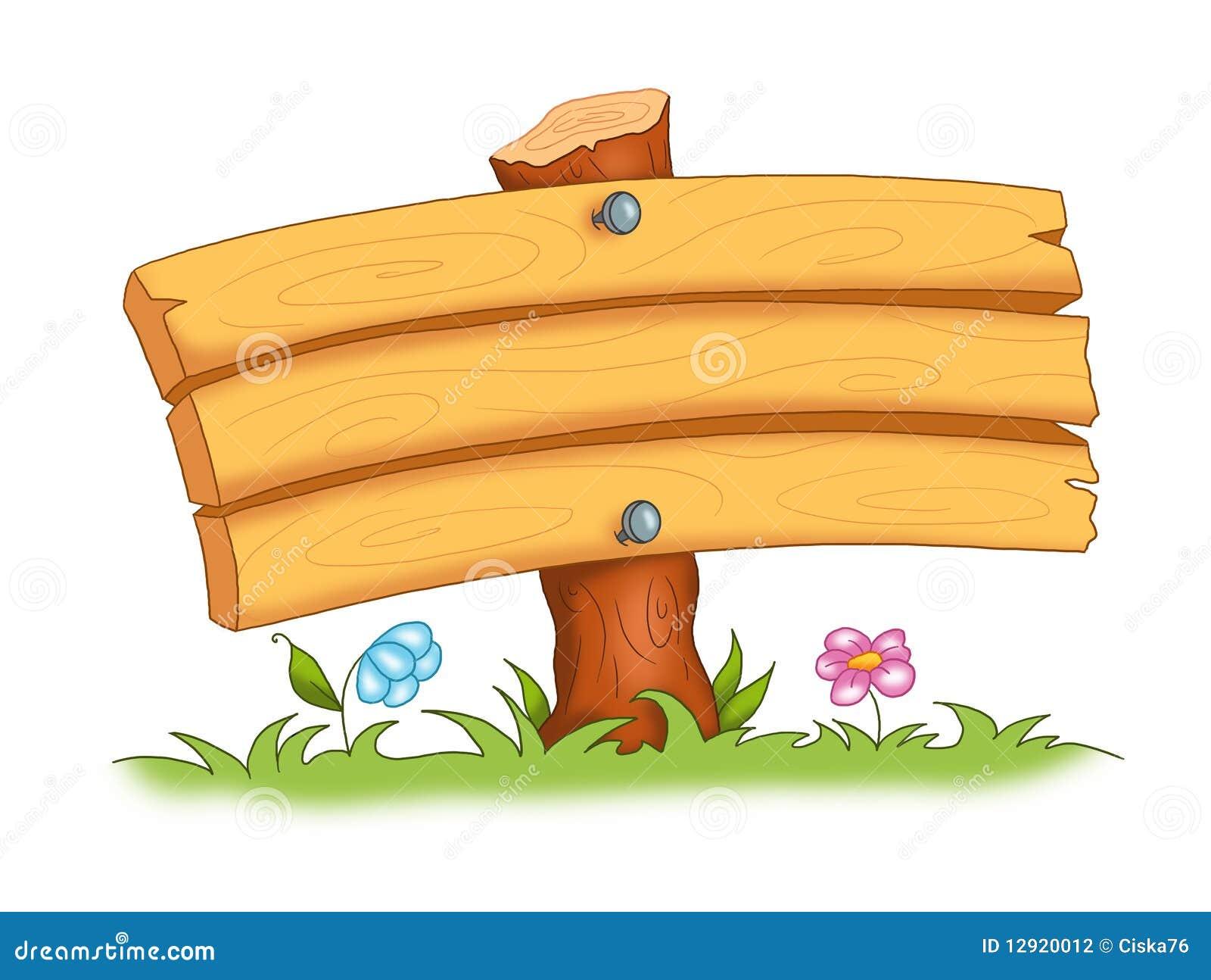 Marco de madera stock de ilustración. Ilustración de historieta ...