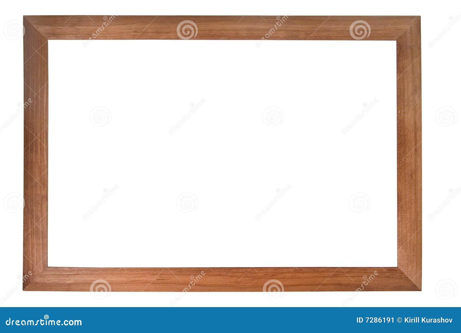 Marco de madera de la foto de Brown