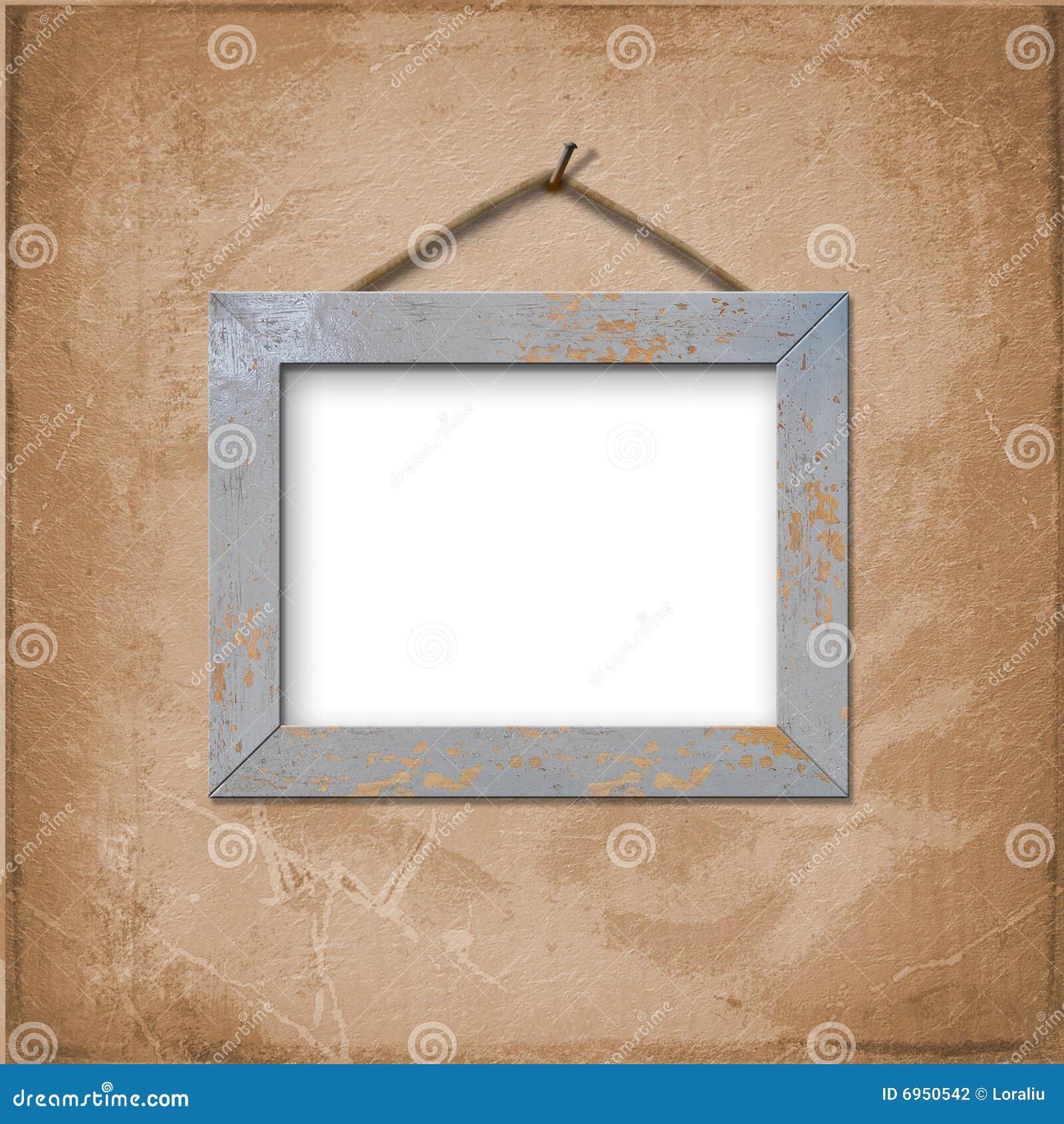 Marco de madera para el cuadro o la foto fotograf a de - Marcos de fotos madera ...