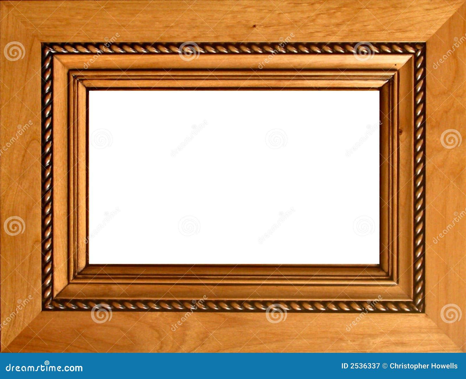 Marco de madera tallado imagen de archivo imagen de formal 2536337 - Marcos de madera ...