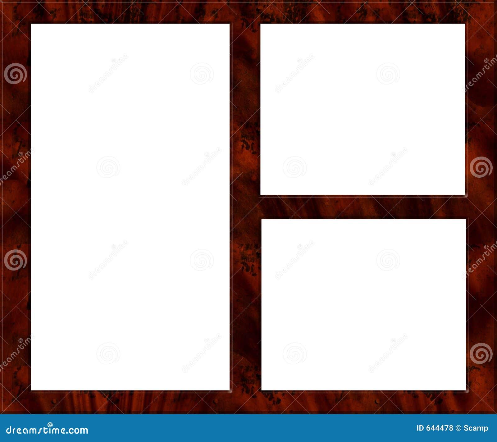 Marco de madera - vacie stock de ilustración. Ilustración de ...