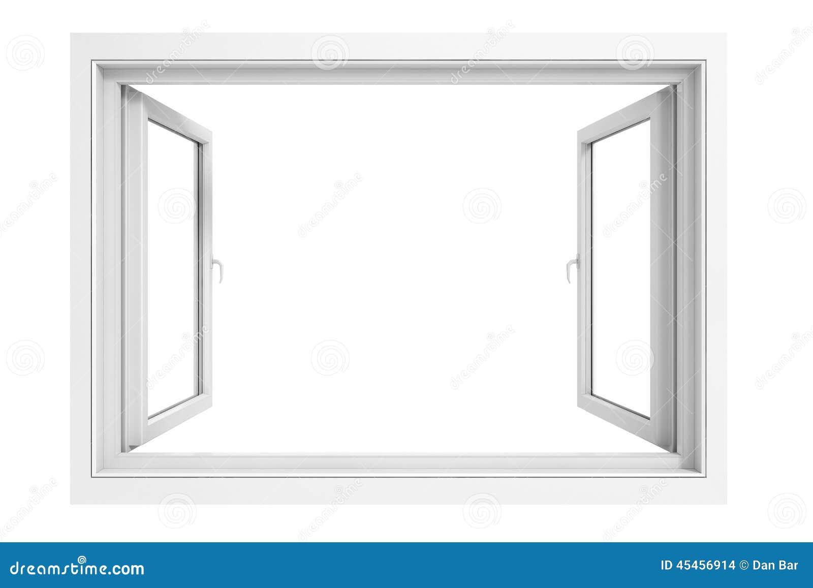 Marco de ventana 3d stock de ilustración. Ilustración de blank ...