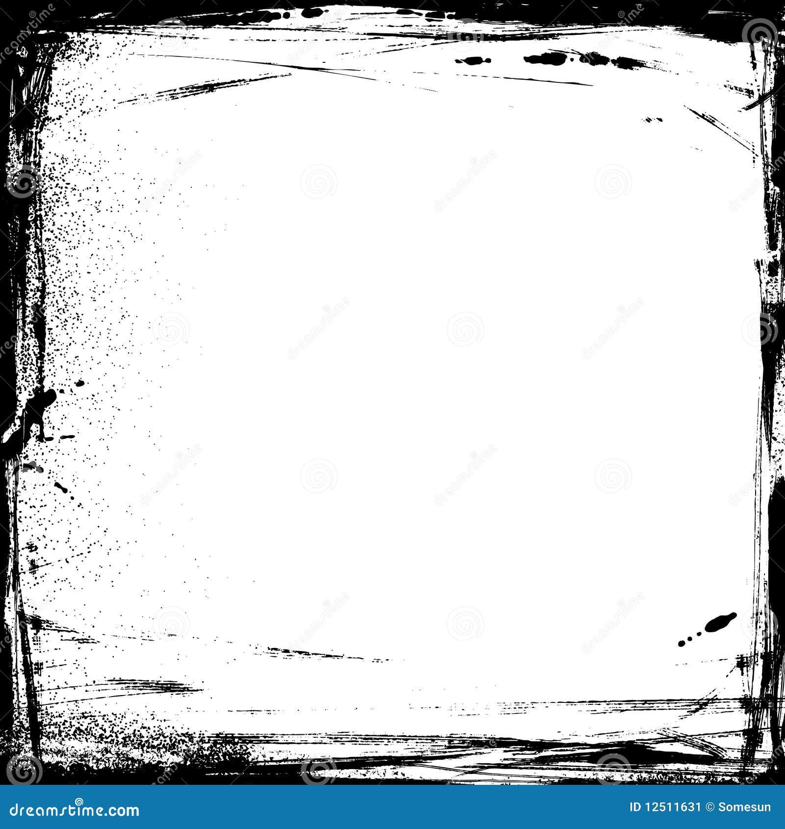 Marco del grunge del vector ilustraci n del vector - Marco foto antigua ...