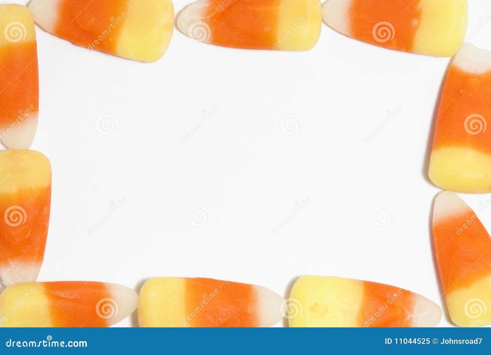 Marco del maíz de caramelo imagen de archivo. Imagen de maíz - 11044525