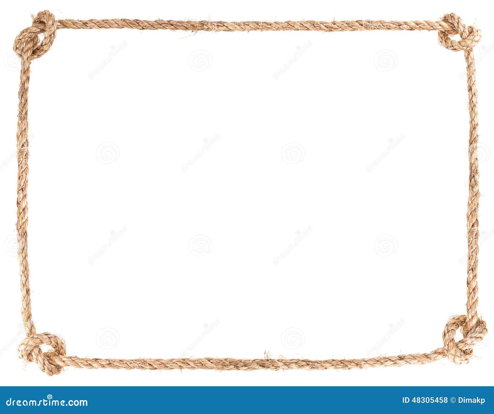 Marco del nudo de la cuerda