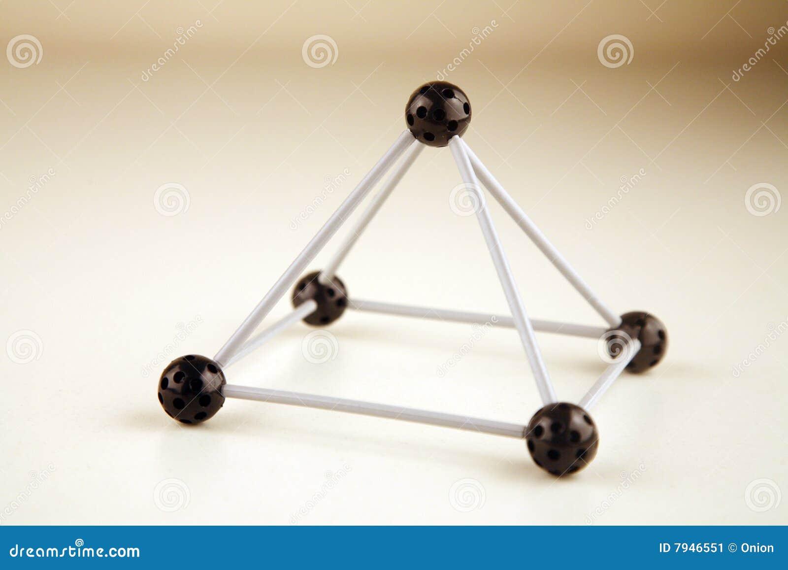Marco del triángulo imagen de archivo. Imagen de ciencia - 7946551
