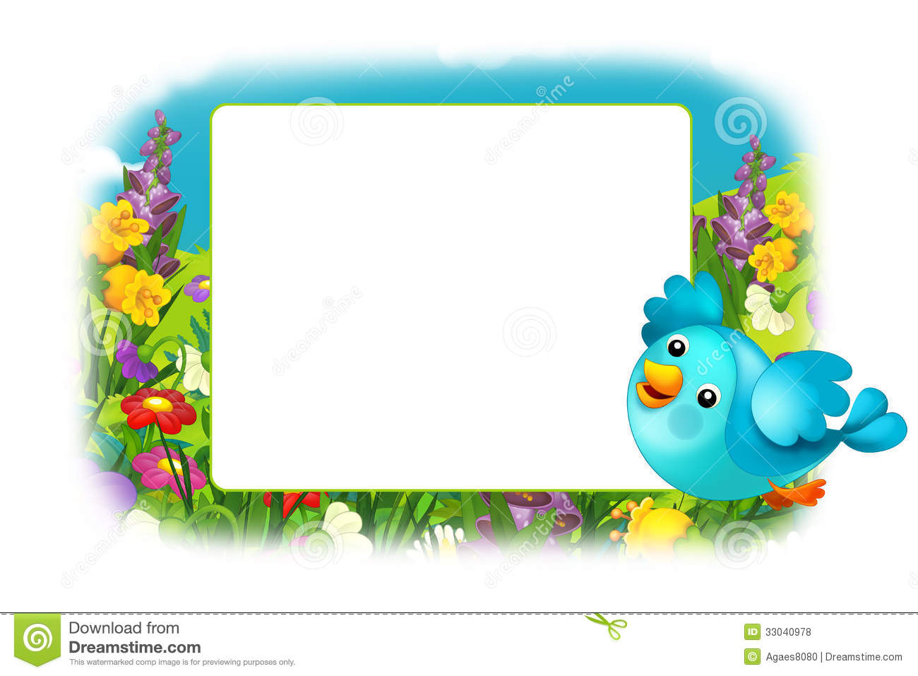 Fish Borders and Frames