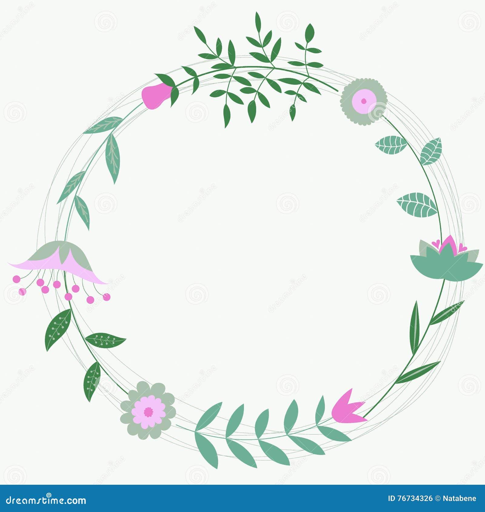 Marco Floral Para Casarse Invitaciones Y Cumpleaños De Las