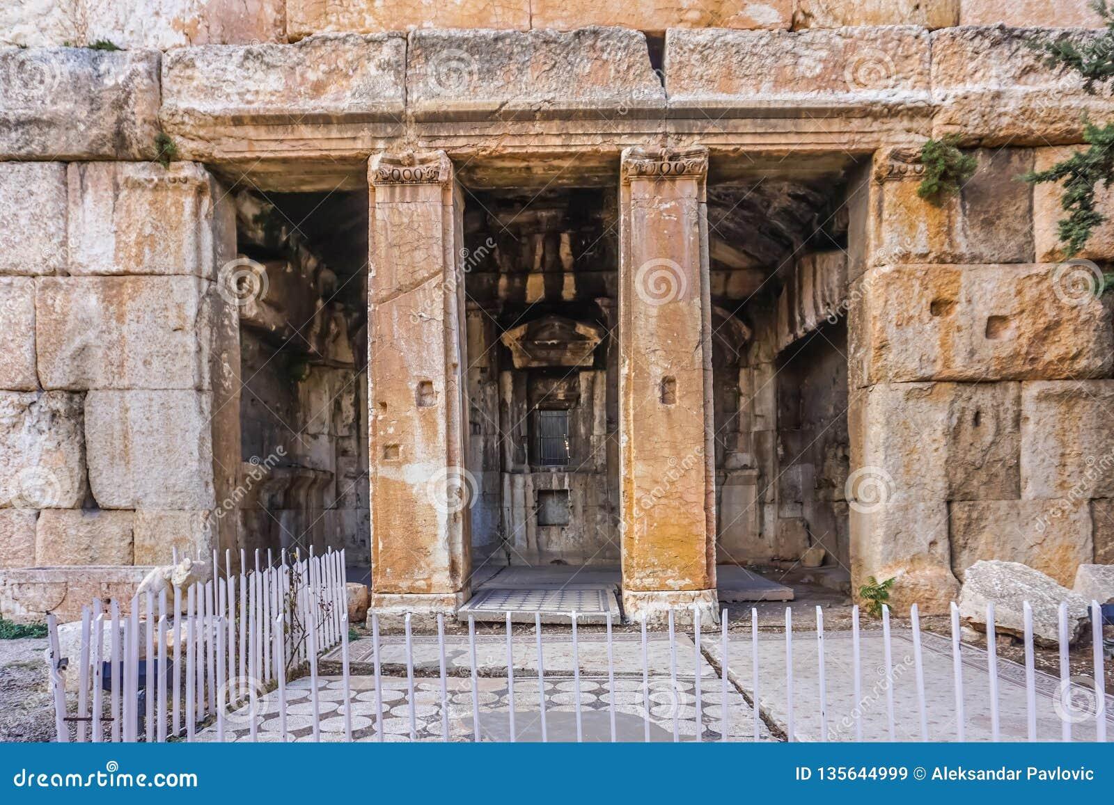 Marco histórico 59 de Baalbek