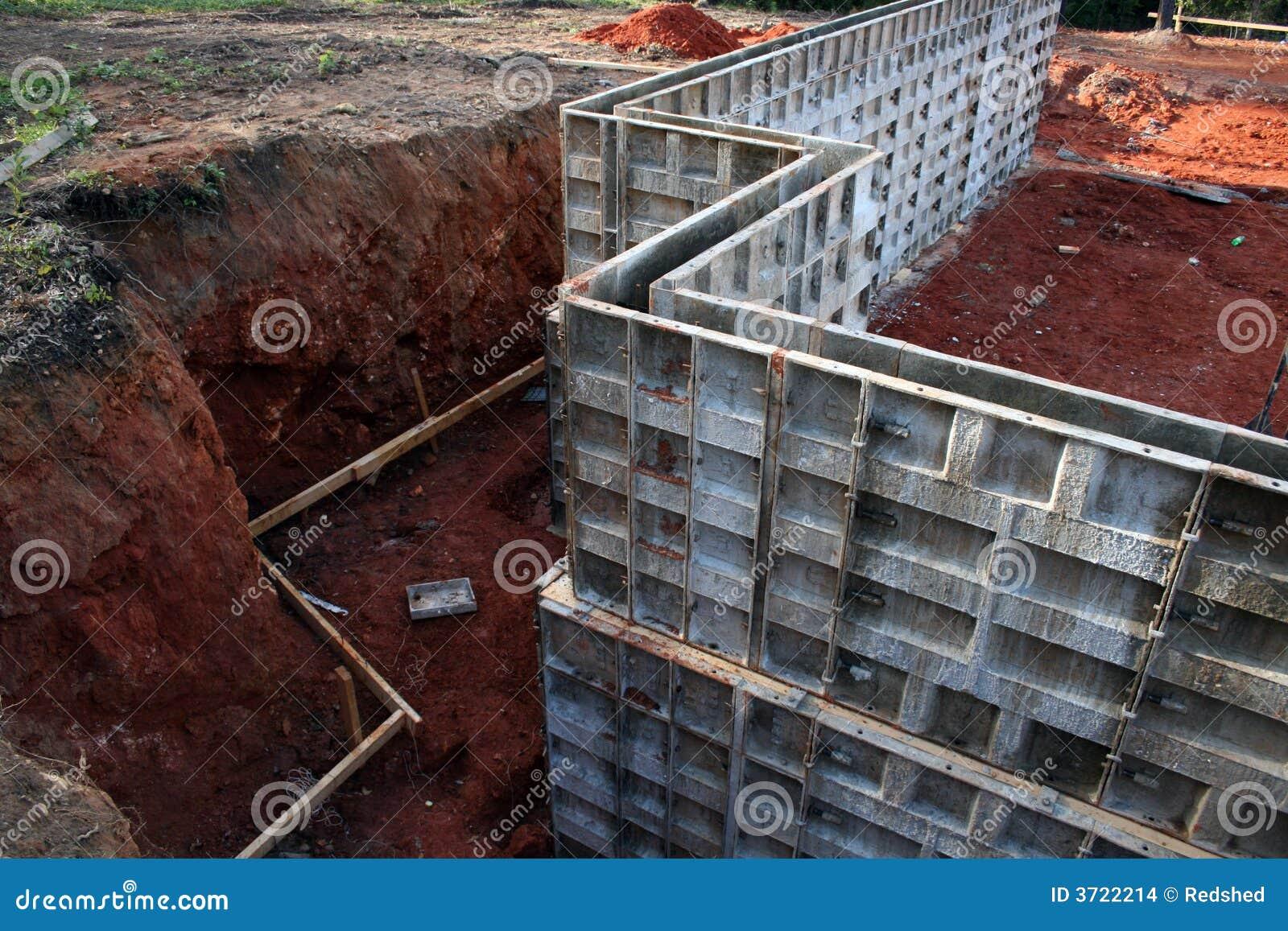 Marco Para El Sótano Concreto Wa Foto de archivo - Imagen de ...