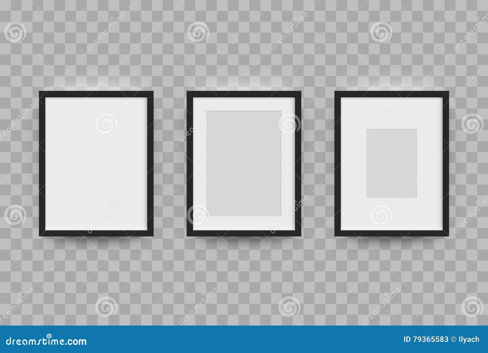 Marco Para Las Fotografías Aisladas Ilustración del Vector ...