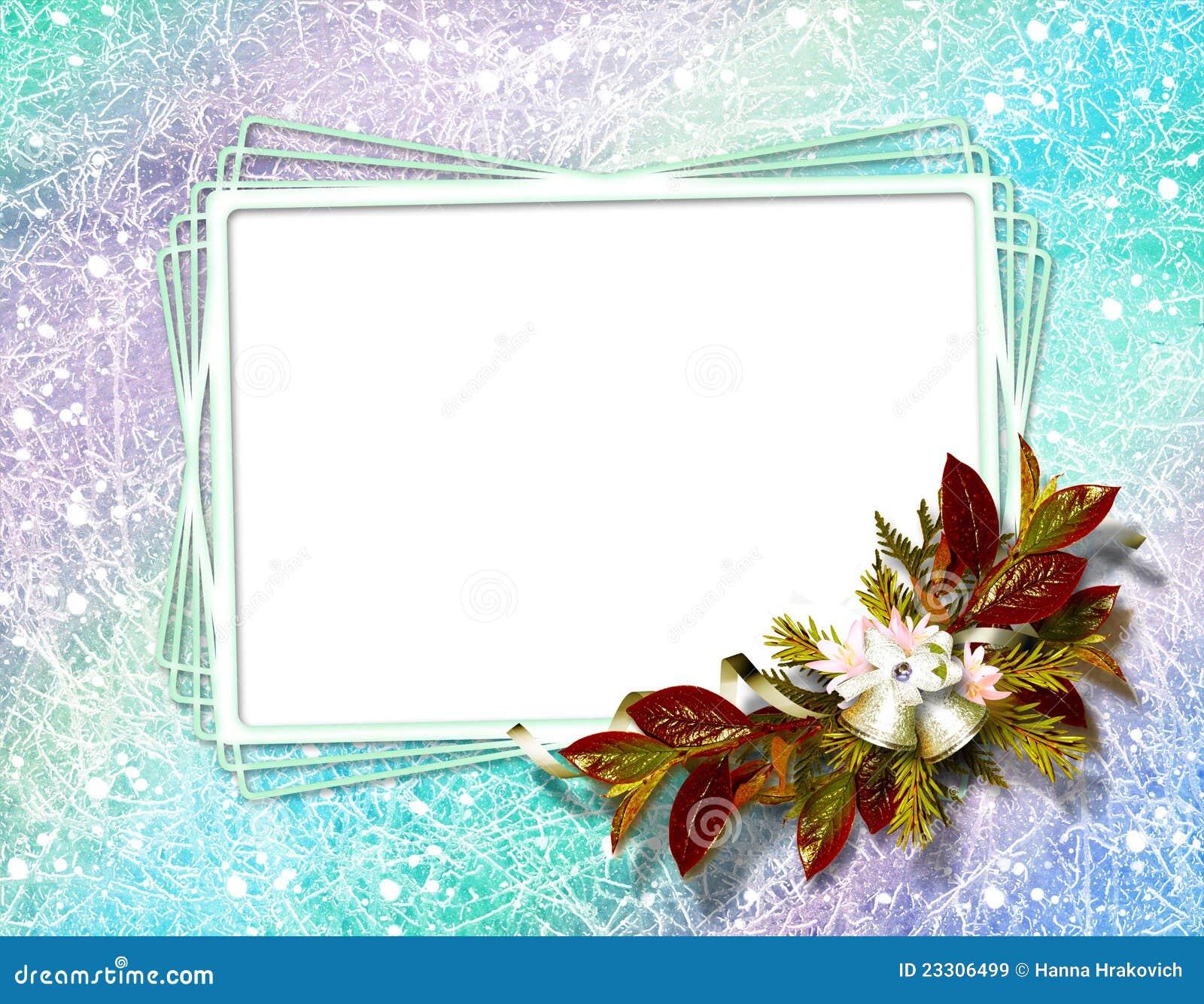 Marco para las invitaciones o la enhorabuena stock de - Diy marcos para fotos ...