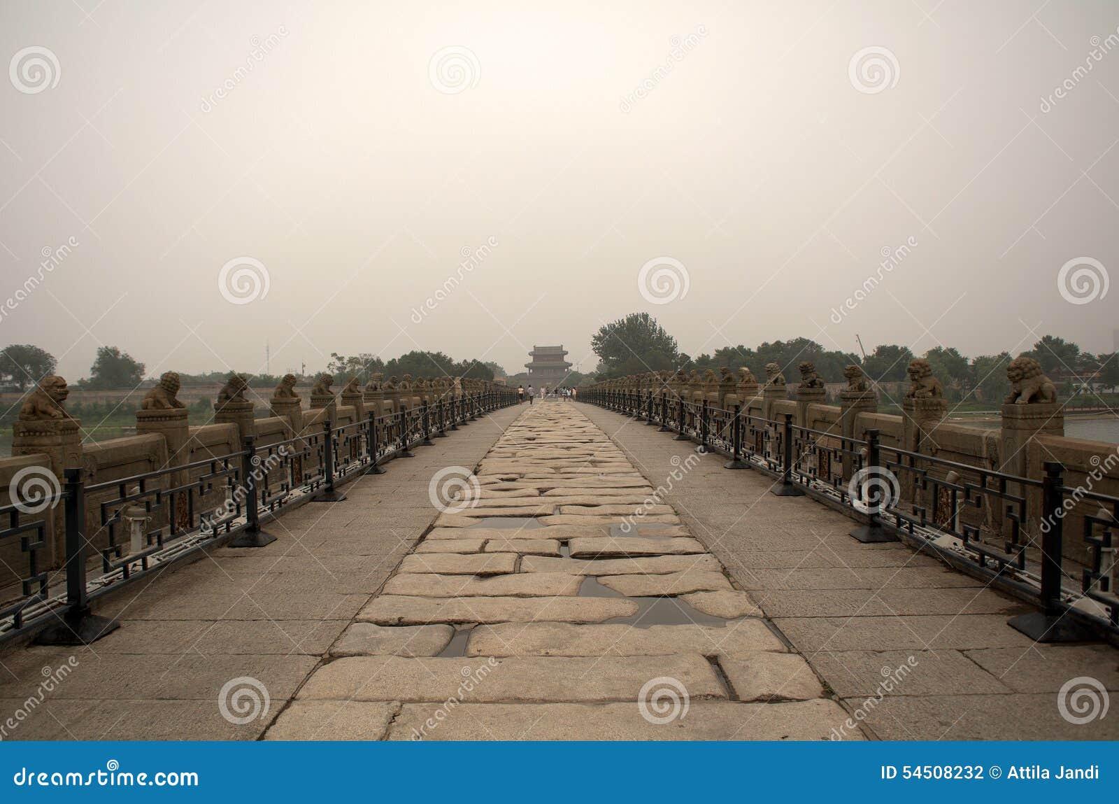 Marco Polo Bridge, Wanping, Chine