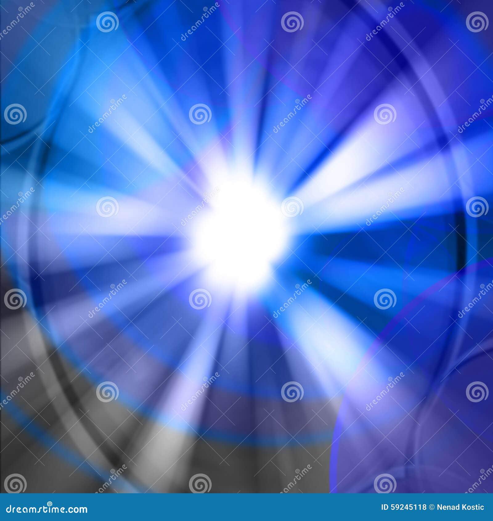 Download Marco Redondo Abstracto Azul Con El Lugar Para El Texto Stock de ilustración - Ilustración de círculo, resplandor: 59245118