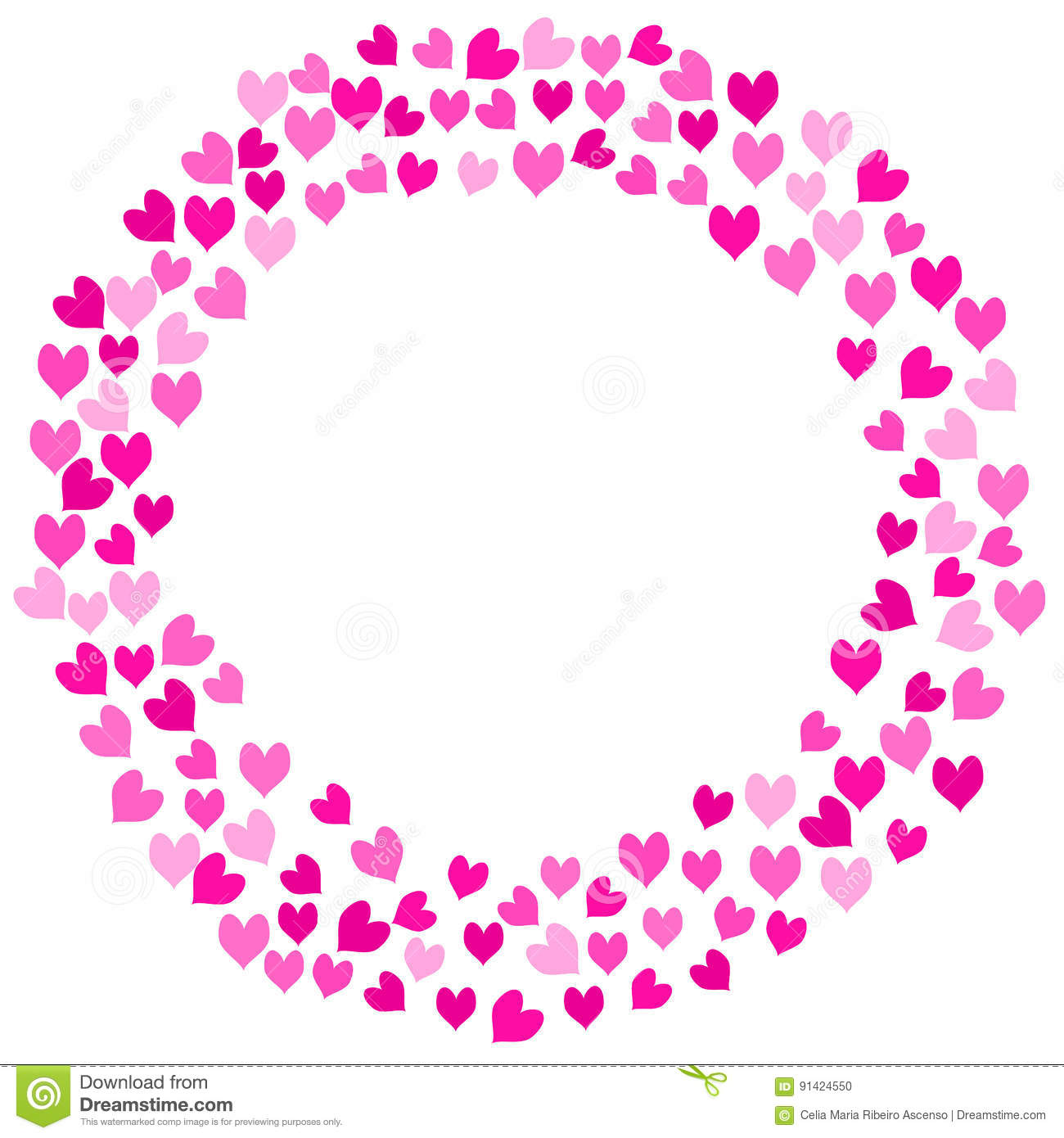 Marco Circular Del Amor Stock Photos - Royalty Free Images