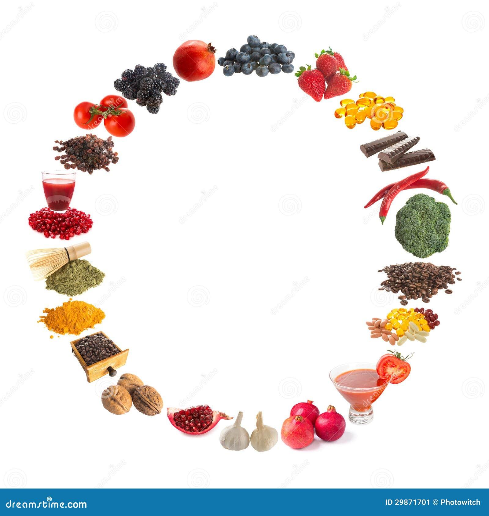 Antioxidantes sanos