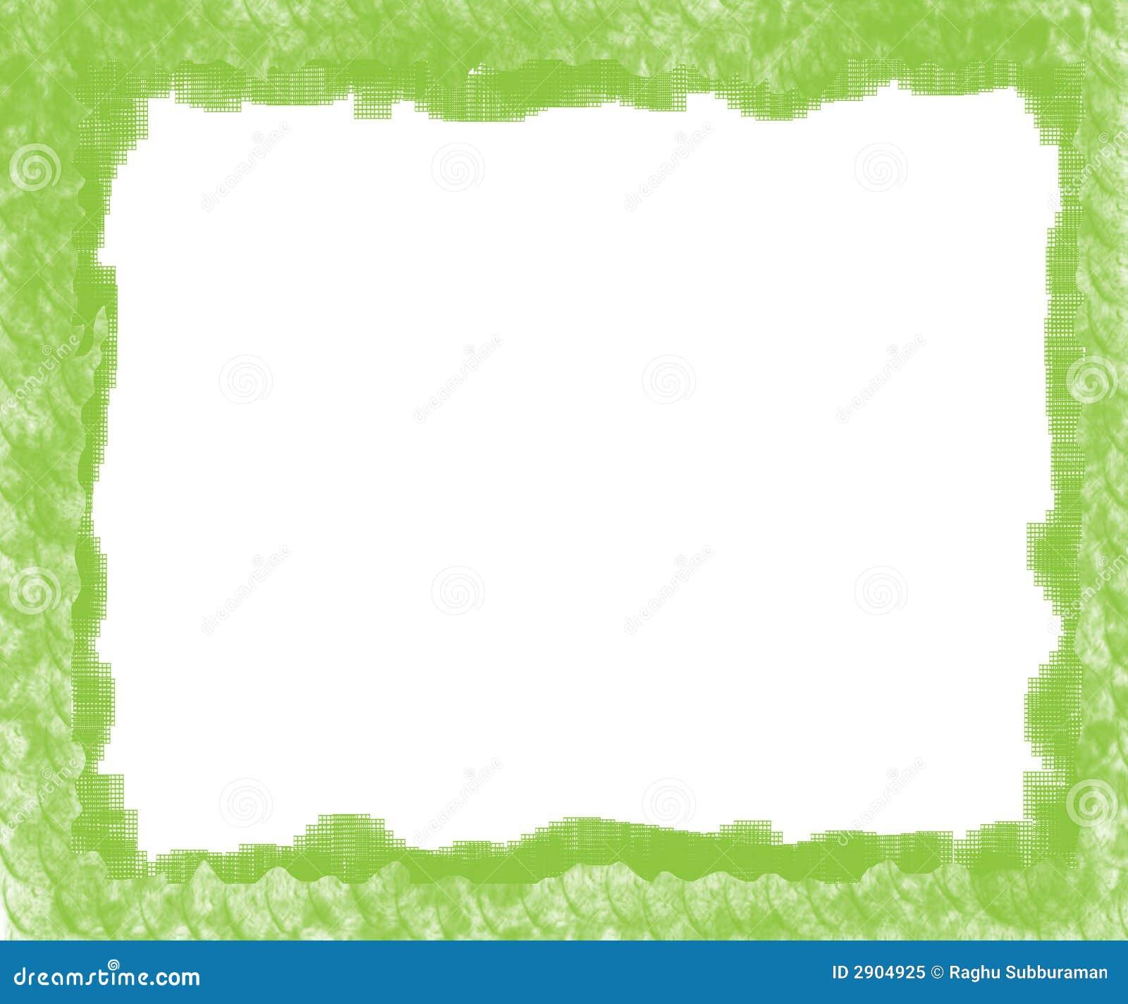 Marco verde stock de ilustración. Ilustración de colorido - 2904925