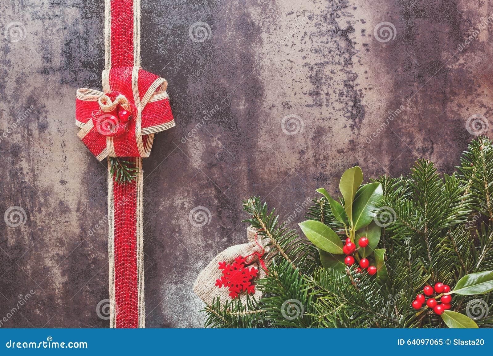 Marco y cinta de la navidad foto de archivo imagen 64097065 - Cinta arbol navidad ...