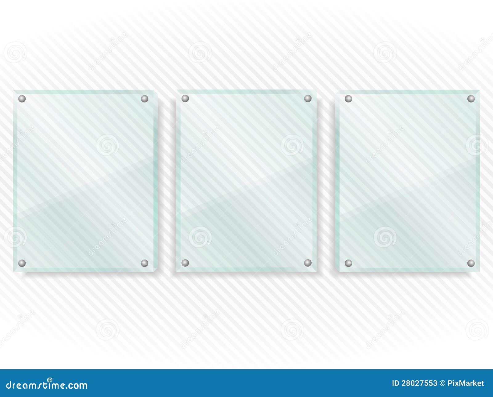 Marcos de cristal fotos de archivo imagen 28027553 - Marcos de cristal ...