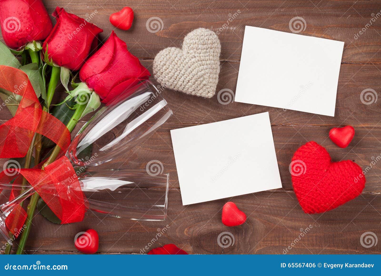 Marcos De La Foto Del Día De Tarjetas Del Día De San Valentín ...